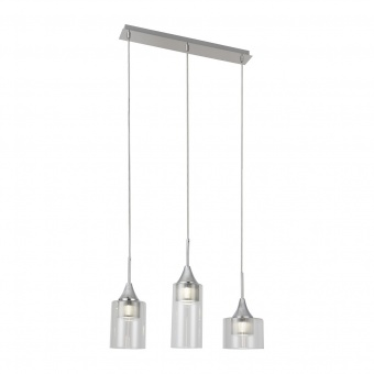полилей, chrome/transparent, rabalux, candice, led 15w, 4000k, 1200lm, 6350