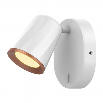 спот, white/gold, rabalux, solange, led 6w, 3000k, 380lm, 5045