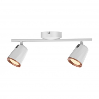 спот, white/gold, rabalux, solange, led 12w, 3000k, 760lm, 5046