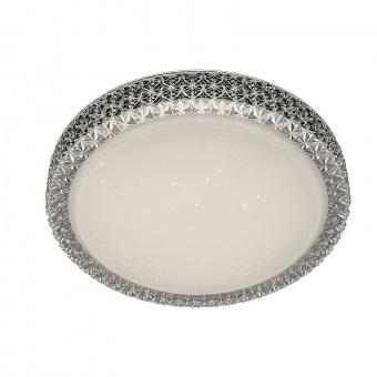 плафон, white/transparent, rabalux, lucilla, led 24w, 4000k, 2100lm, 5327