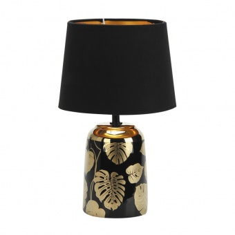 настолна лампа, gold/black, rabalux, sonal, 1xE14, 4549