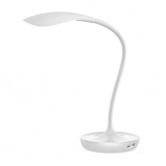 работна лампа, white, rabalux, belmont, led 5w, 3000k, 400lm, 6418