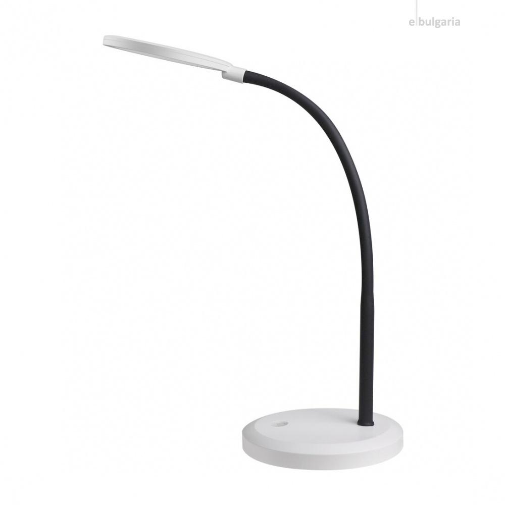 работна лампа, black/white, rabalux, timothy, led 7.5w, 4000k, 440lm, 5429