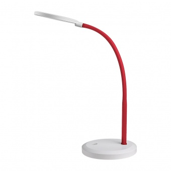 работна лампа, red/white, rabalux, timothy, led 7.5w, 4000k, 440lm, 5430