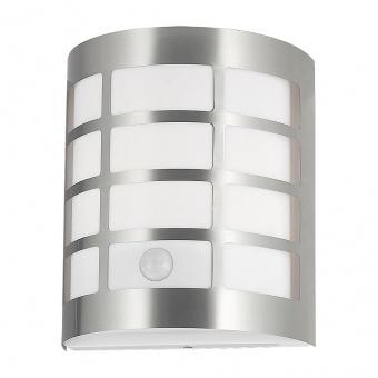 градинско тяло, satin chrome/white, rabalux, sevilla, 1xE27, sensor, 8800