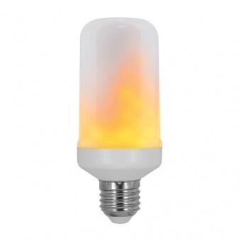 led лампа 6.5w, e27, топла светлина, warmwhite, vivalux, plam led, 1300k-1700k, 130lm, 004106