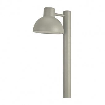 градински стълб bero, grey, 1xE27, aca lighting, bero1pog