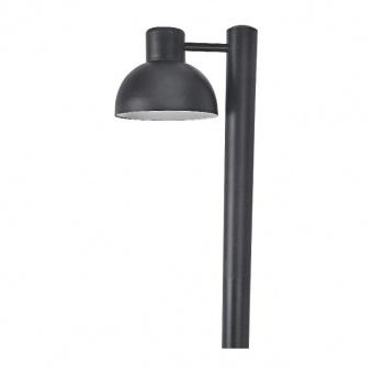 градински стълб bero, black, 1xE27, aca lighting, bero1pobk