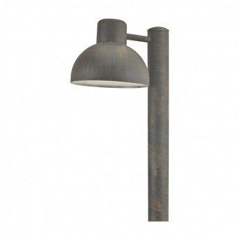 градински стълб bero, rust, 1xE27, aca lighting, bero1por