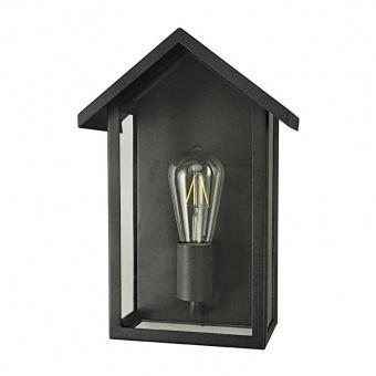 градински аплик celia, black, 1xE27, aca lighting, celiah1wbk