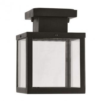 градински плафон celia, black, 1xE27, aca lighting, celia1cbk