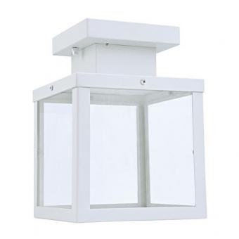 градински плафон celia, white, 1xE27, aca lighting, celia1cwh