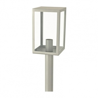 градински стълб celia, grey, 1xE27, aca lighting, celia1pog