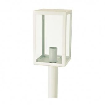 градински стълб celia, white, 1xE27, aca lighting, celia1powh