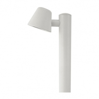градински стълб vida, white, 1xGU10, aca lighting, vida1powh
