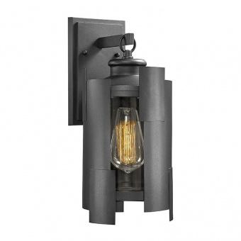 градински аплик arion, black, 1xE27, aca lighting, arion1wbk