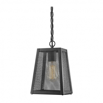 градински пендел nyx, black, 1xE27, aca lighting, nyx1pbk