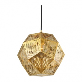 пендел avantgarde, polished gold+black, 1xE27, aca lighting, v35029go