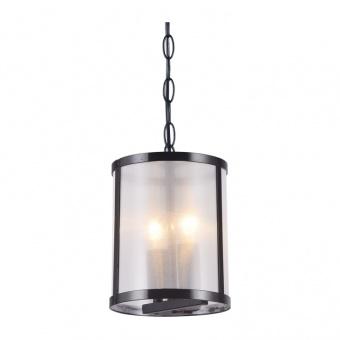 полилей vintage, matt black+white, 2xE14, aca lighting, od61052