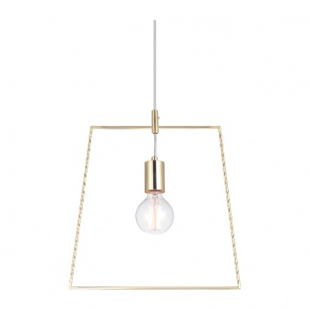 пендел style, polished brass, 1xE27, aca lighting, v35183bs