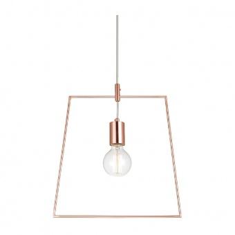 пендел style, polished copper, 1xE27, aca lighting, v35183cp