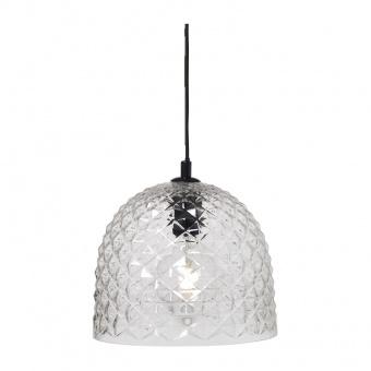 пендел style, clear+black, 1xE27, aca lighting, v36352tr
