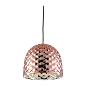 пендел style, polished copper+black, 1xE27, aca lighting, v36352cp
