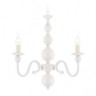 полилей elegant, matt white, 3xE14, aca lighting, dla11853w