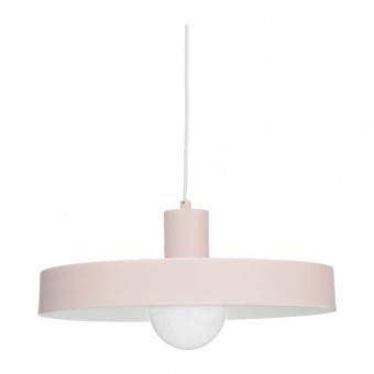 пендел primary, pale matt pink+white, 1xE27, aca lighting, od5392spp