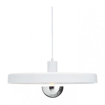 пендел primary, matt white, 1xE27, aca lighting, od5392mwh