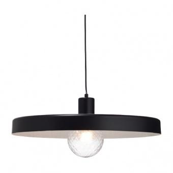 пендел primary, matt black+white, 1xE27, aca lighting, od5392mbk