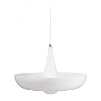 пендел primary, polished white, 1xE27, aca lighting, od5435wh