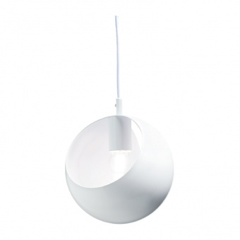 пендел primary, polished white, 1xE27, aca lighting, v36037wh