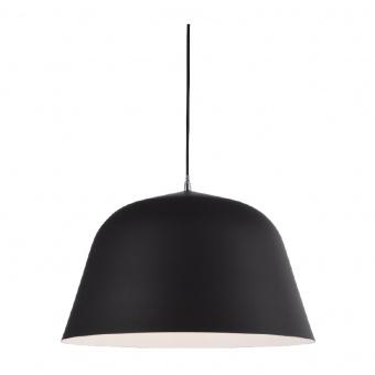 пендел primary, matt black+white, 1xE27, aca lighting, od8072bk