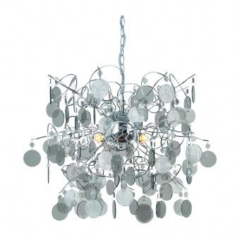полилей acrylic, chrome+clear tint, 4xG9, aca lighting, sf633914s