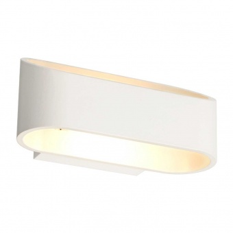 аплик wall&ceiling luminaires, matt white, 2xled 3w, 3000k, aca lighting, l35039