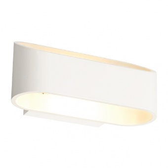 аплик wall&ceiling luminaires, matt white, 2xled 3w, 4000k, aca lighting, l350394
