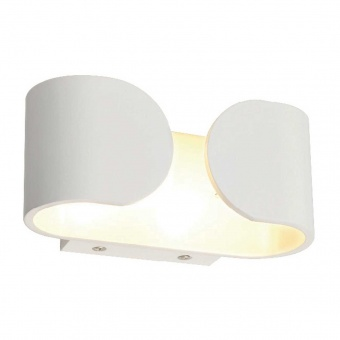 аплик wall&ceiling luminaires, matt white, 2xled 3w, 3000k, aca lighting, l35049
