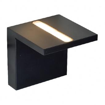 аплик wall&ceiling luminaires, matt black, led 4w, 3000k, aca lighting, l36291bk