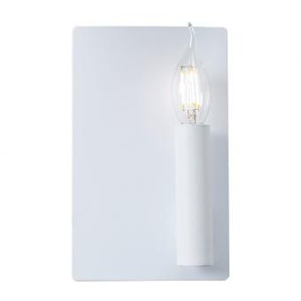 аплик wall&ceiling luminaires, matt white, 1xE14, aca lighting, mxb150021a