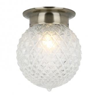 плафон wall&ceiling luminaires, bronze+clear, 1xE27, aca lighting, su0606cb