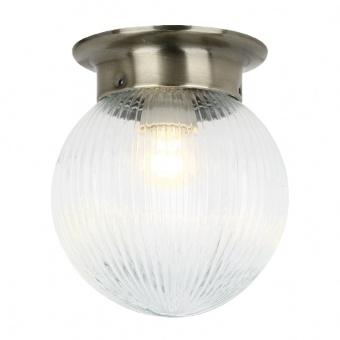 плафон wall&ceiling luminaires, bronze+clear, 1xE27, aca lighting, su0607cb