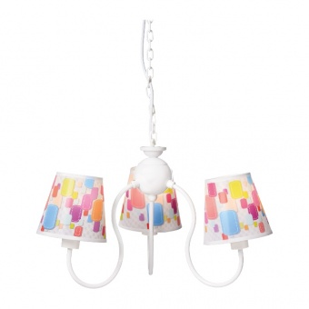 полилей bambini luminaires, multicolor, 3xE14, aca lighting, md130943