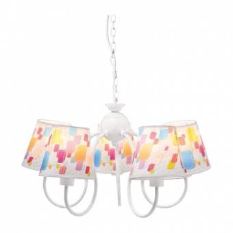 полилей bambini luminaires, multicolor, 5xE14, aca lighting, md130945