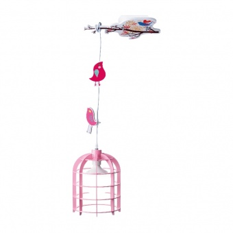 пендел bambini luminaires, pink, 1xE27, aca lighting, md150411p