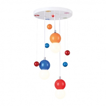 полилей bambini luminaires, multicolor, 3xE27, aca lighting, md90523