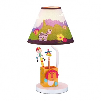 настолна лампа bambini luminaires, multicolor, 1xE27, aca lighting, mt91301
