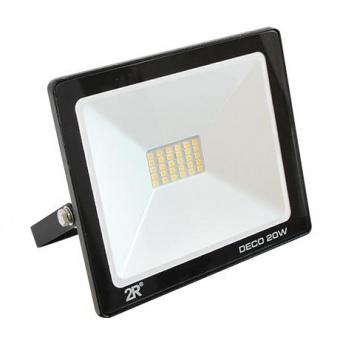 метален прожектор, черен, deco, led 20w, 2700k, 1000lm, deco black, 05617