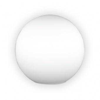 настолна лампа kugel opal, white, 1xE27, fischer&honsel, 58451