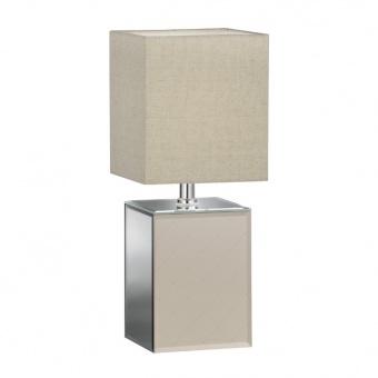 настолна лампа bert, ceramic gold coloured/mirrored, 1xE14, fischer&honsel, 50258